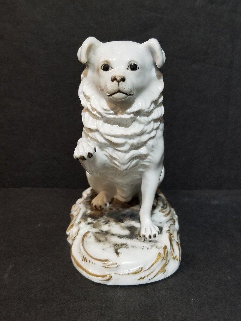 Meissen dog, circa 1920