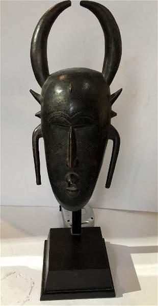 Senufu mask used by Adam Fuss, Ivory Coast 1930's