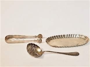 Early silver: French, Irish, American, 7.2 t. oz