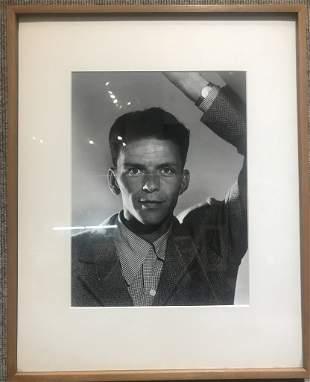 Philippe Halsman photo Frank Sinatra, 1944