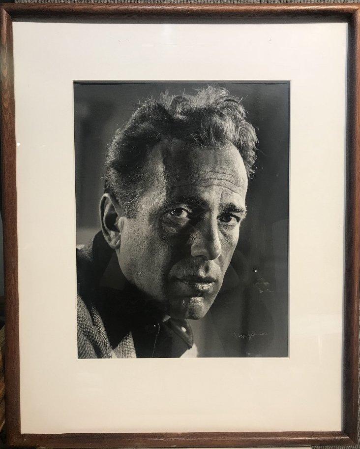 Philippe Halsman photo, Humphrey Bogart, 1944