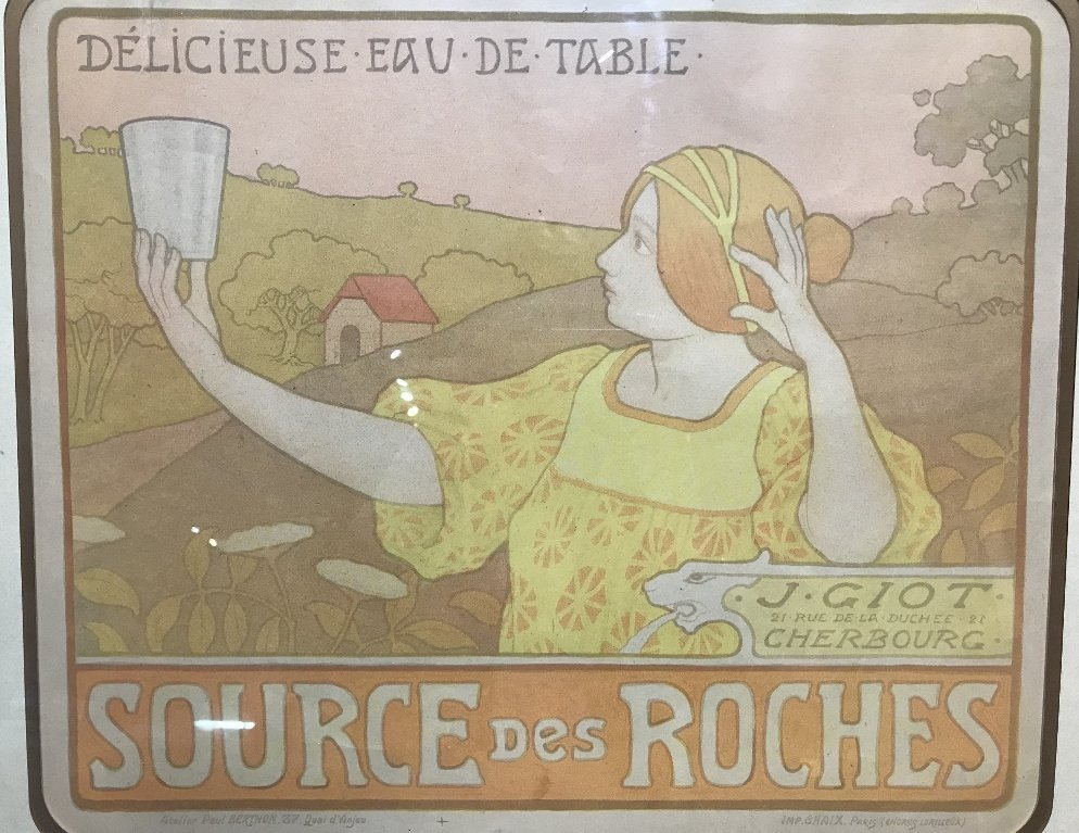 Original Art Nouveau poster by Paul Berthon