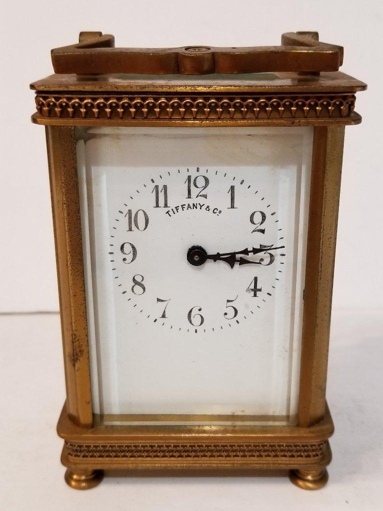 Tiffany & Co carriage clock, c.1900