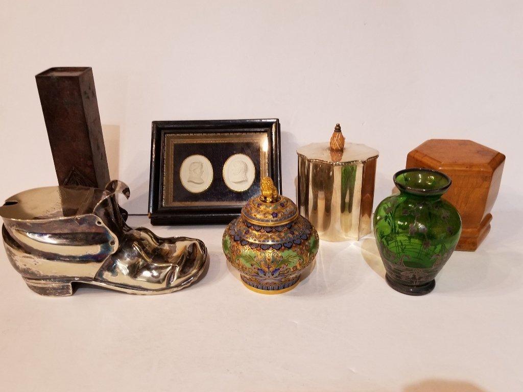 Miscellaneous antique items