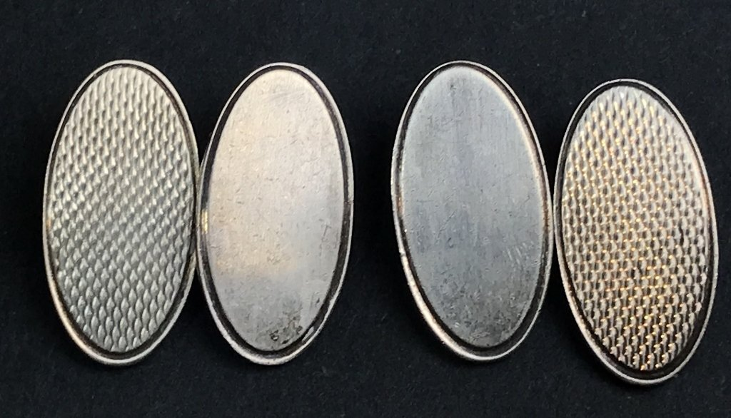 Sterling Mappin and Webb cufflinks