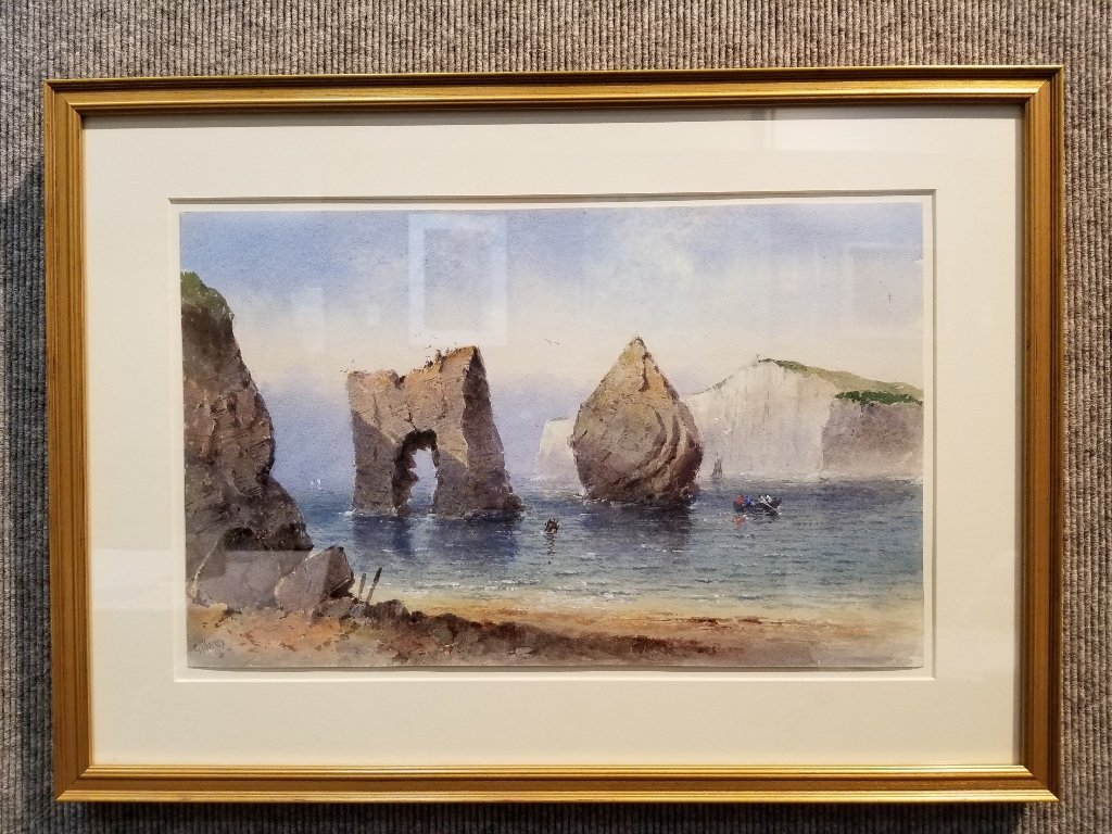 Watercolor by George James Knox, 19th cen