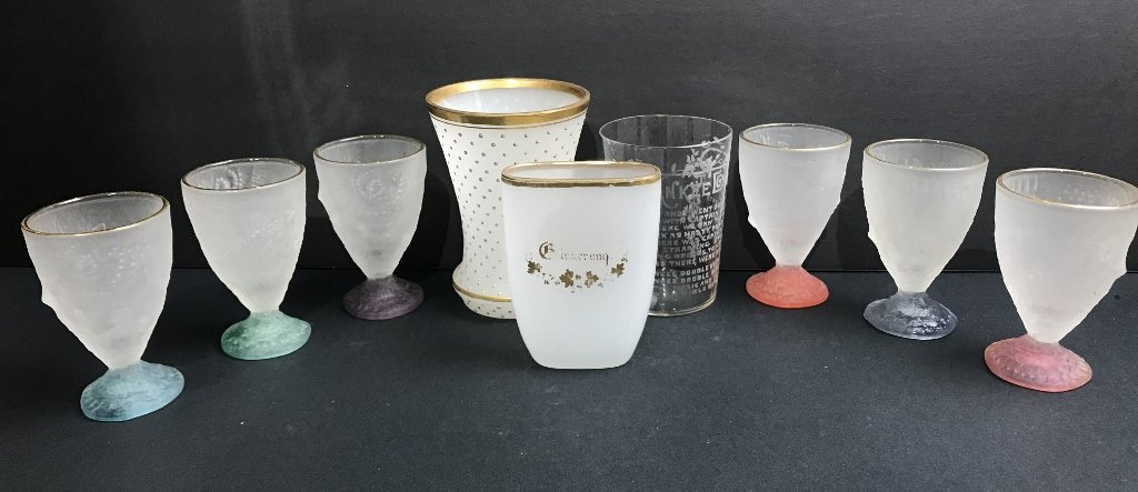 Miscellaneous glass items