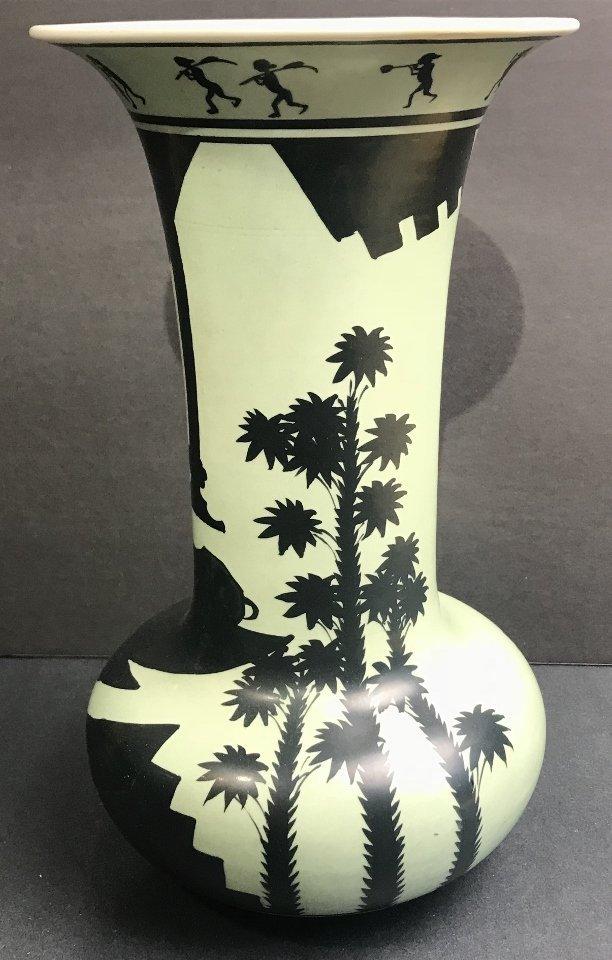 Deco vase, made in Japan, 1930s