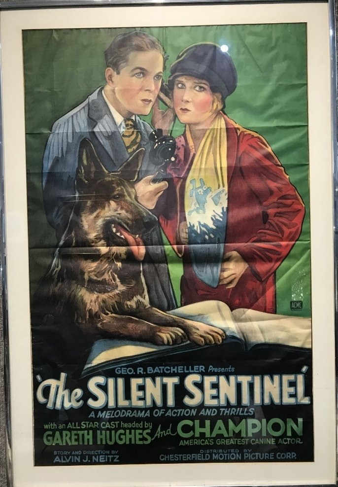 "Orig movie poster: ""The Great Sentinel"" 1929"