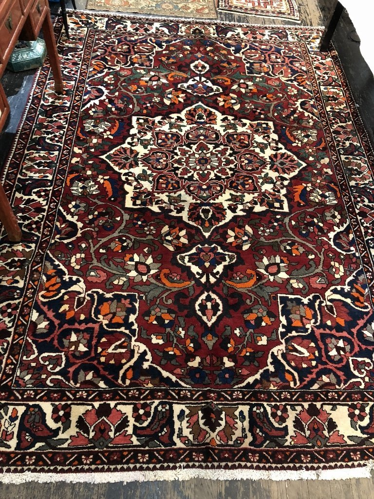 Handmade Persian carpet, 8' x 10'