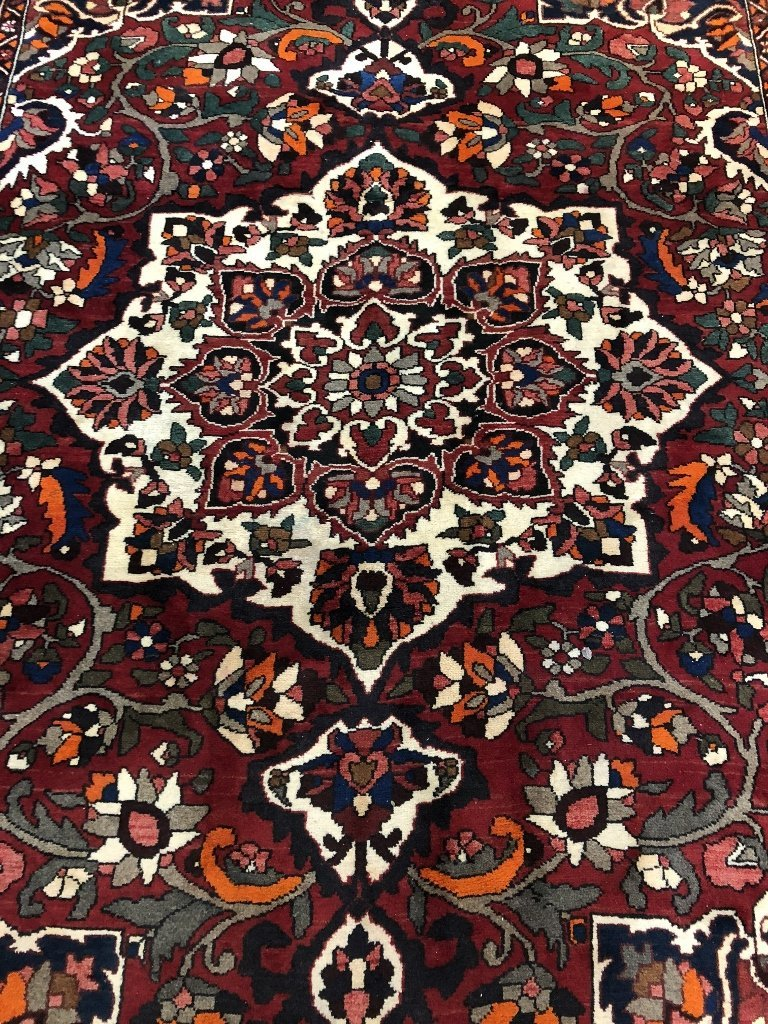 Handmade Persian carpet, 8' x 10' - 2