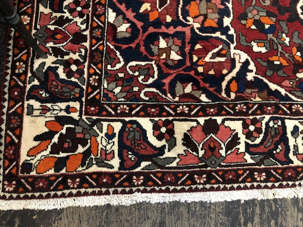 Handmade Persian carpet, 8' x 10' - 3