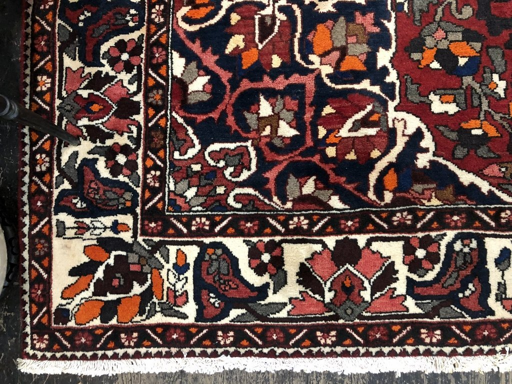 Handmade Persian carpet, 8' x 10' - 6
