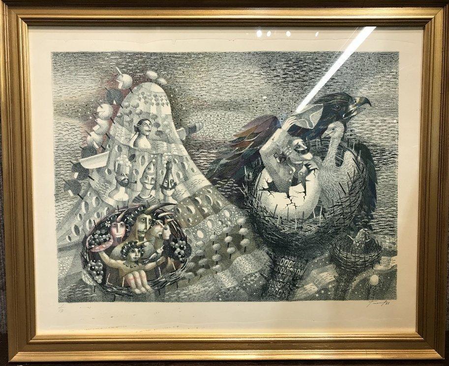 Russian print by Juri Charishnicov-Ambassador
