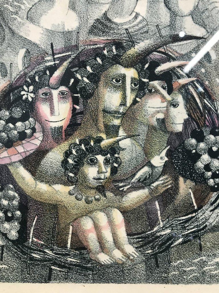 Russian print by Juri Charishnicov-Ambassador - 3
