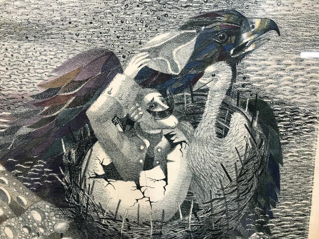 Russian print by Juri Charishnicov-Ambassador - 5