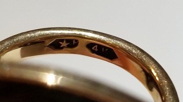 Japanese mixed metal, mounted as a 14k ring - 5
