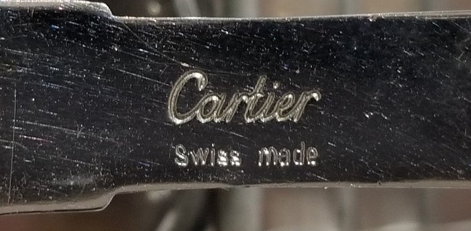 Cartier stainless and 18k gold watch in box - 10