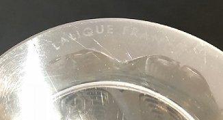 """Lalique deco vase, """"Epis"""", acid etched """"Lalique France"""" - 6"""