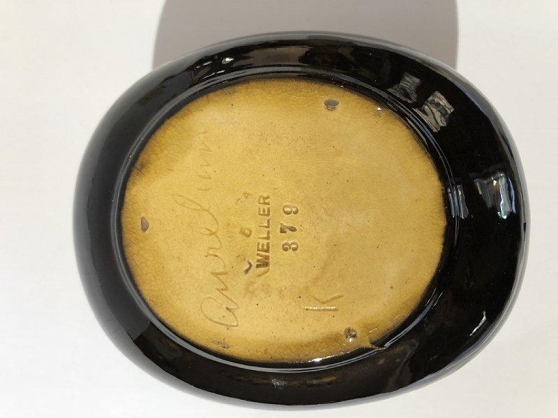 Weller small pitcher, Aurelian, c.1910 - 4