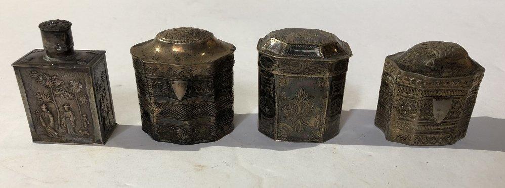 Ten silver Dutch miniatures, 6 oz, 18th/19th century - 3