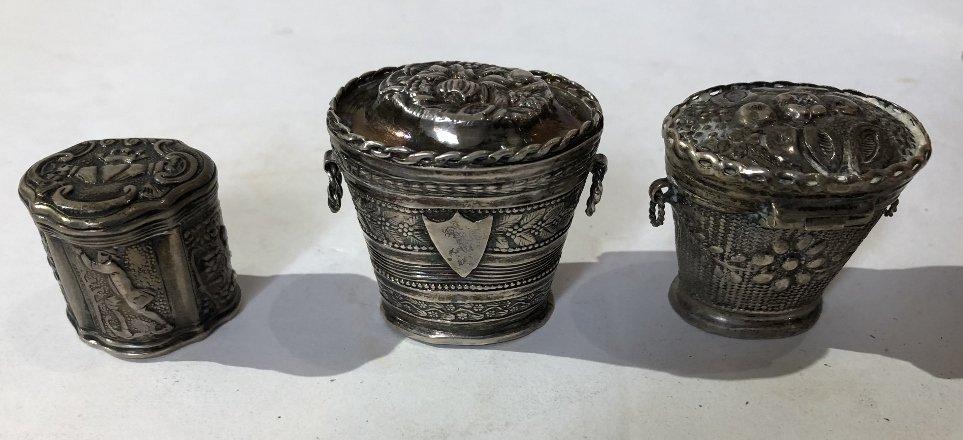 Ten silver Dutch miniatures, 6 oz, 18th/19th century - 4