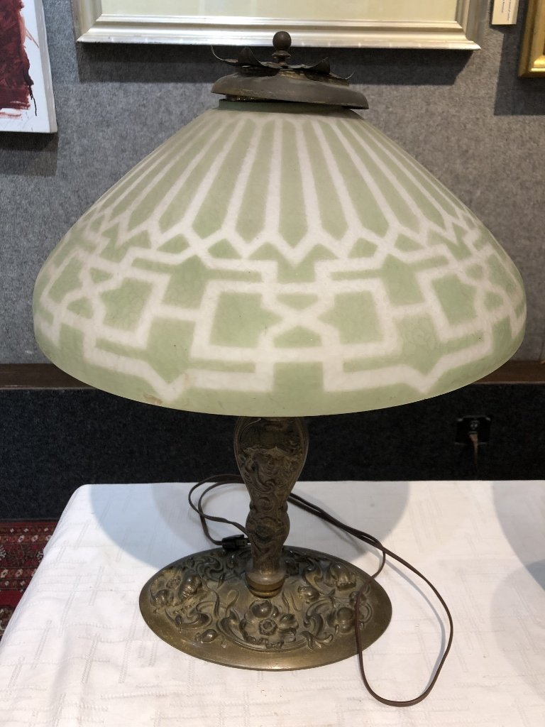 Art Nouveau lamp, c.1920