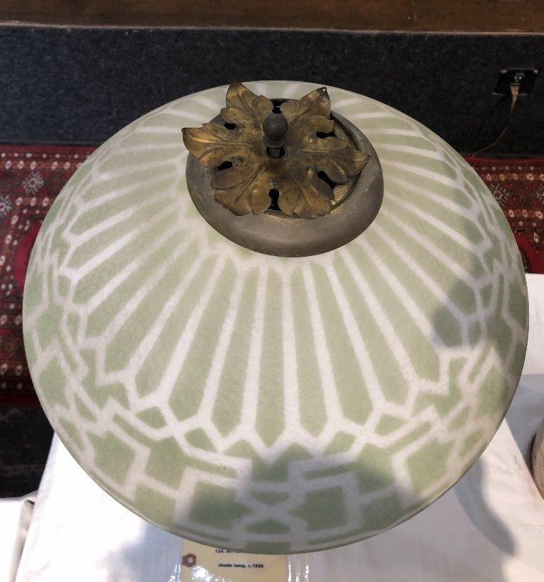 Art Nouveau lamp, c.1920 - 2