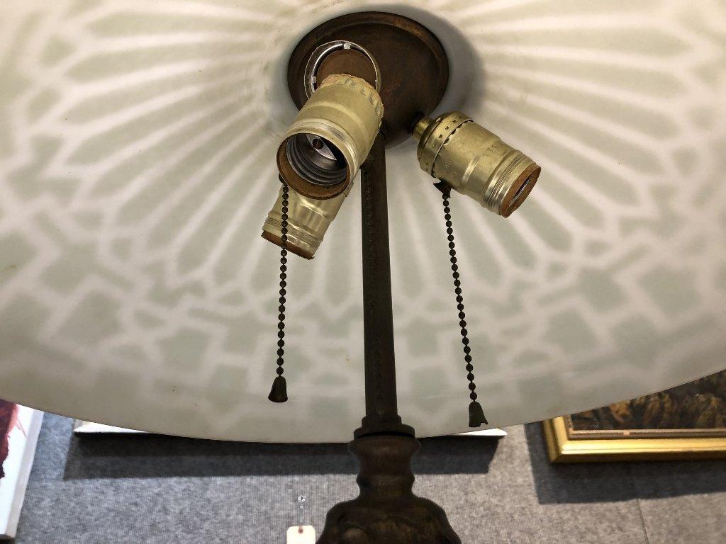 Art Nouveau lamp, c.1920 - 4