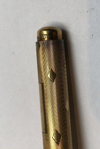 One 14k pen, two Tiffany & Co sterling pens - 7