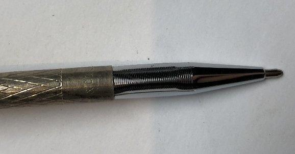 One 14k pen, two Tiffany & Co sterling pens - 9