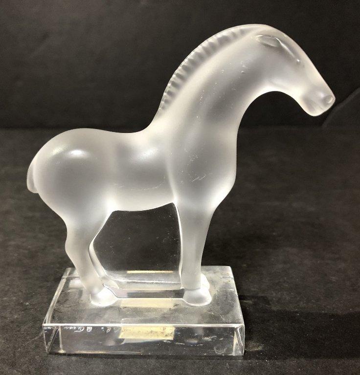 Lalique horse