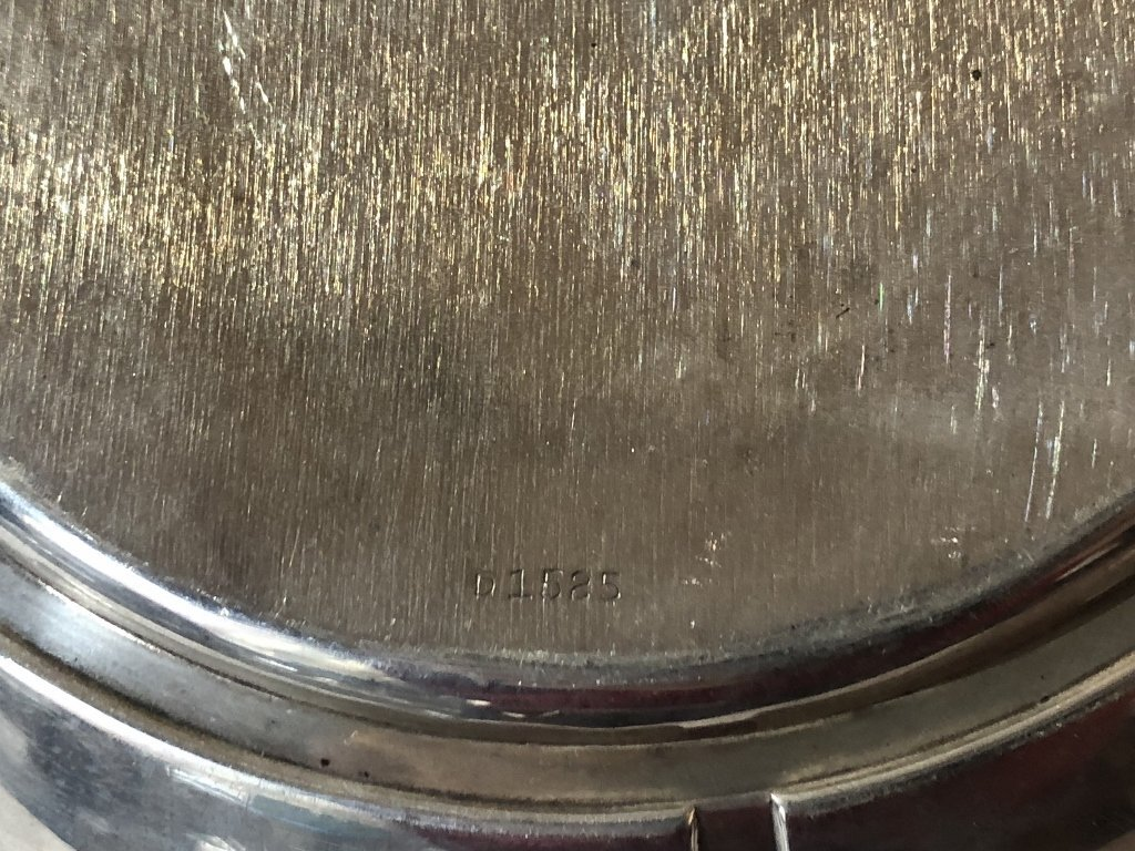 Sterling art deco bowl - 5