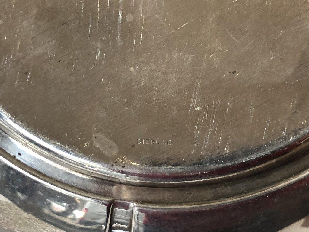Sterling art deco bowl - 6