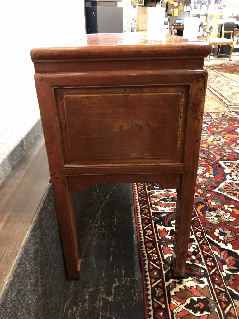 Chinese wood altar table - 6