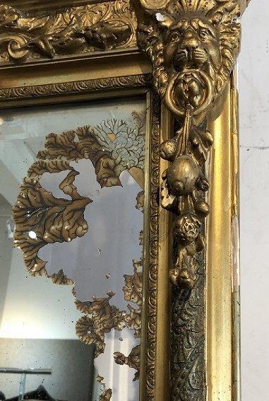 Pier mirror as-is, circa 1890 - 3