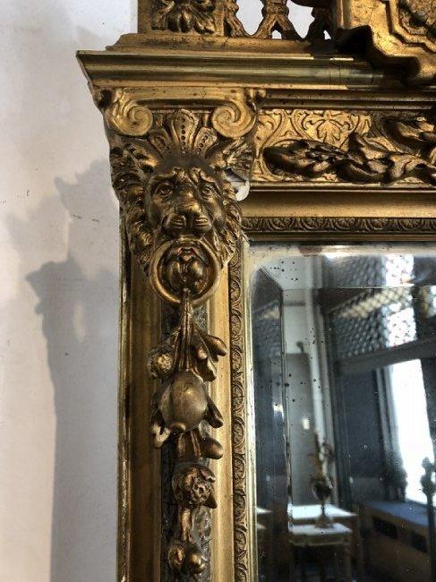 Pier mirror as-is, circa 1890 - 4