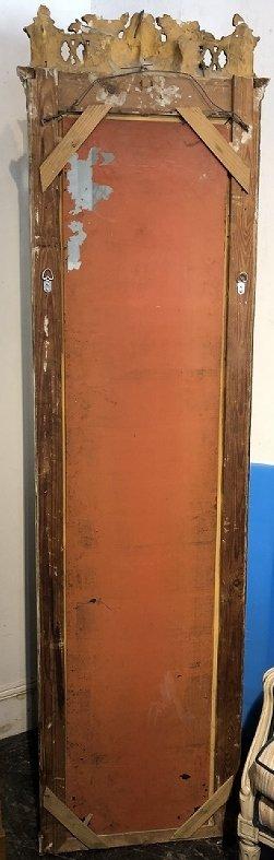 Pier mirror as-is, circa 1890 - 5