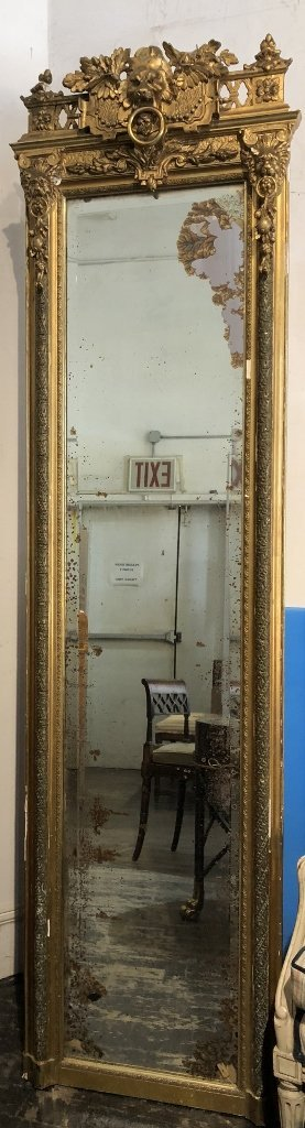 Pier mirror as-is, circa 1890 - 6