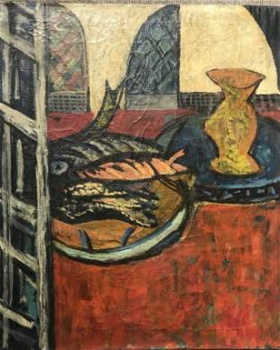 Painting of still life by Victor Thall