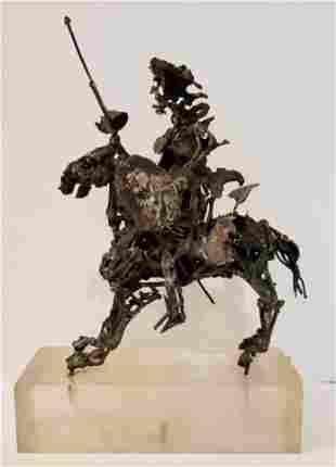 Sterling Don Quixote statue, Xavier Gonzalez