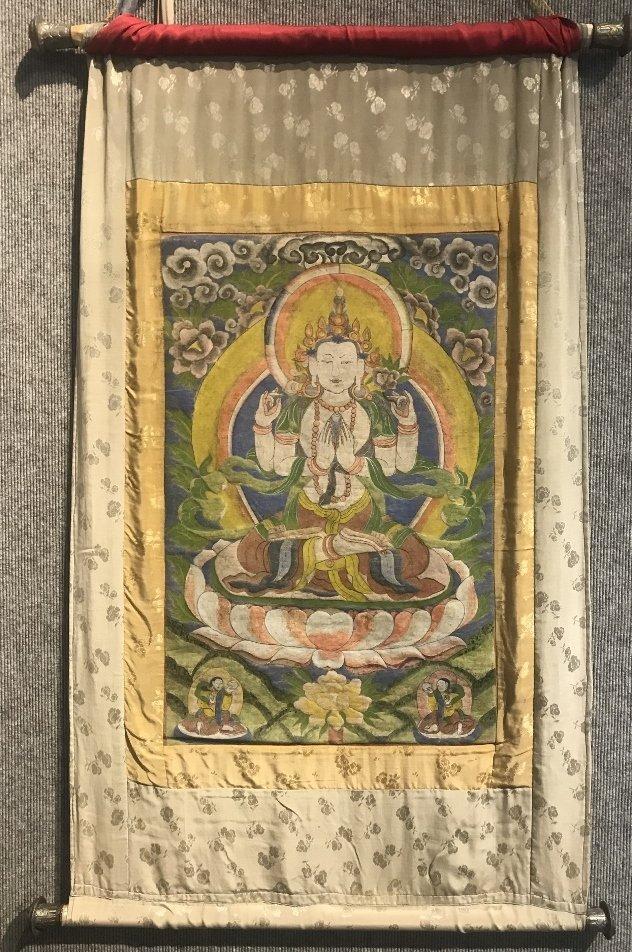 Tibetan Thangka, circa 1930