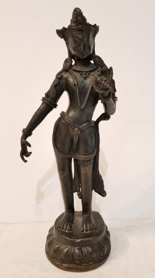 Bronze of Vajrasattva, Nepalese