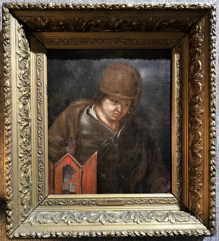 Old Master painting by J.C.Droochsloot, c.1600