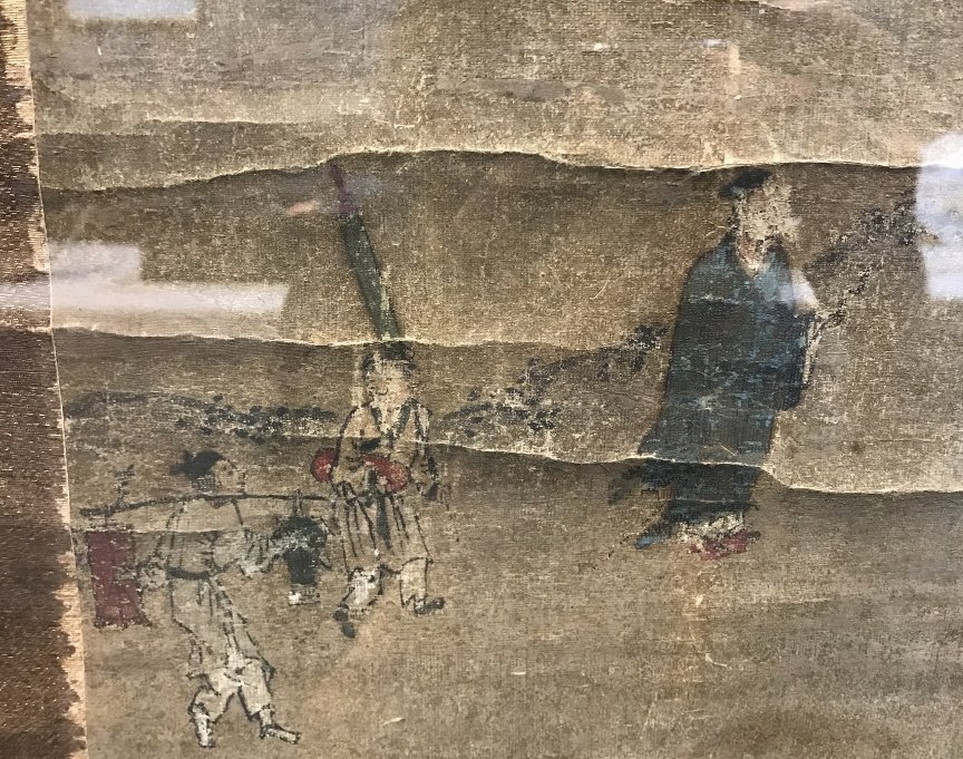 Large 18th/19th century Chinese scroll ptg - 3