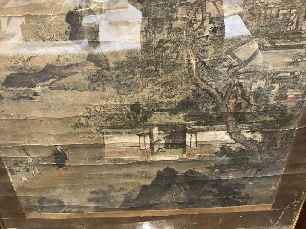 Large 18th/19th century Chinese scroll ptg - 7