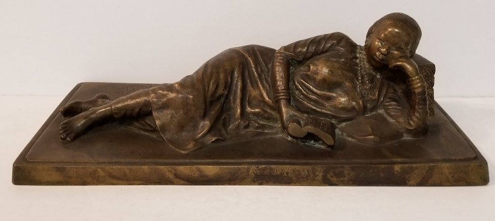 Chinese Republic bronze of Soong Mei-ling