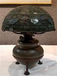Tiffany Studios Acorn lamp, circa 1910