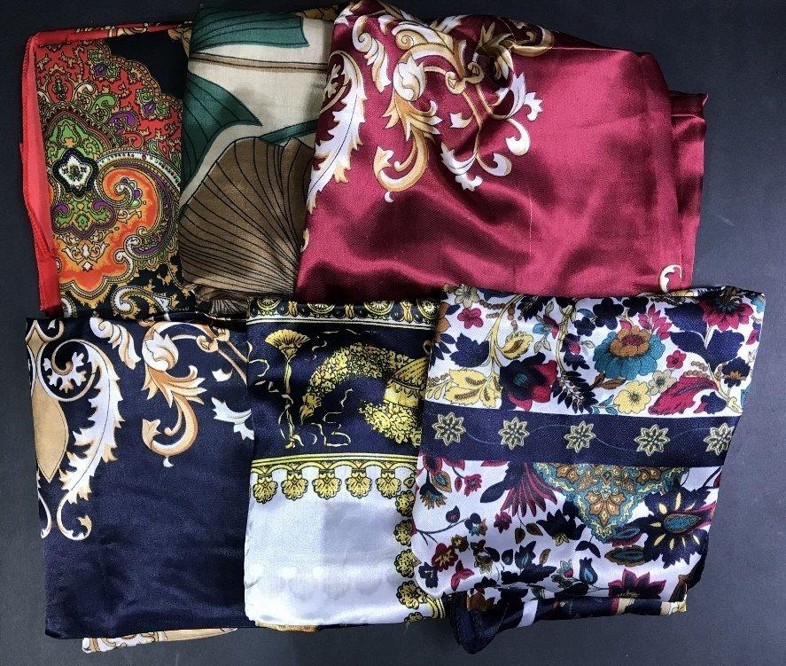 Six scarves