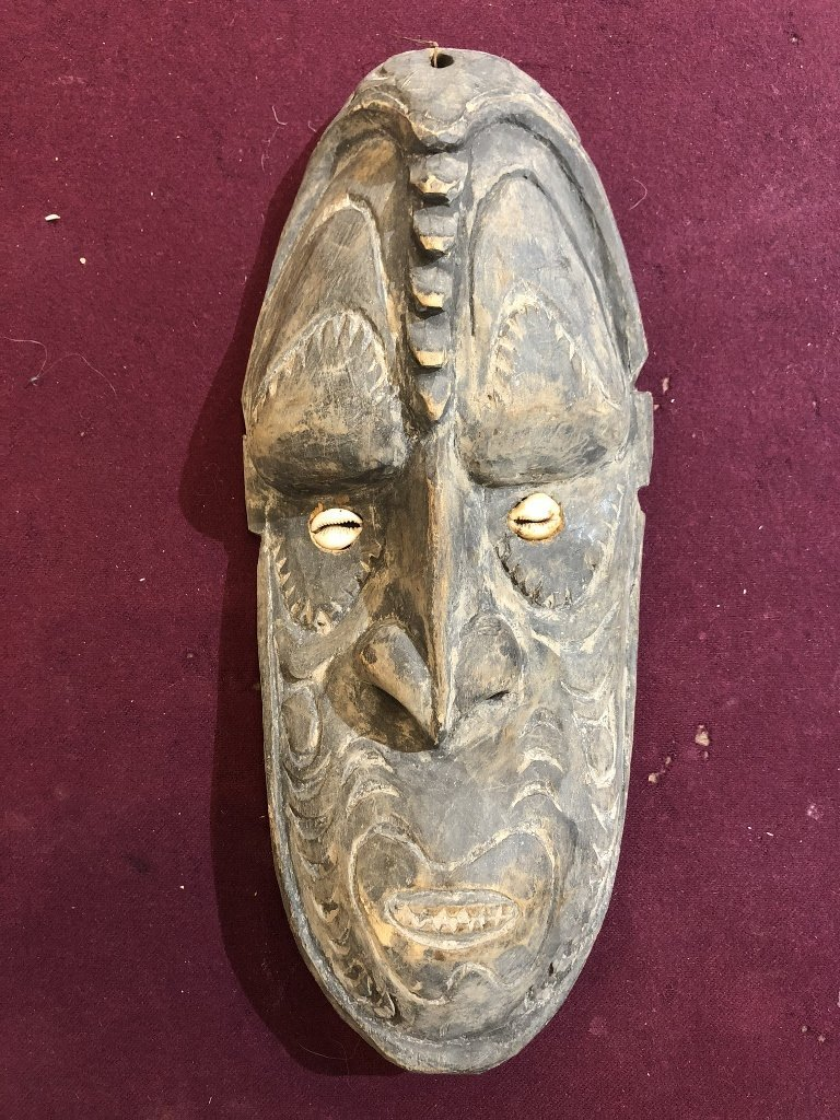 New Guinea mask